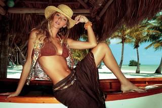 Sfondi di il più famoso top model Gisele Bundchen